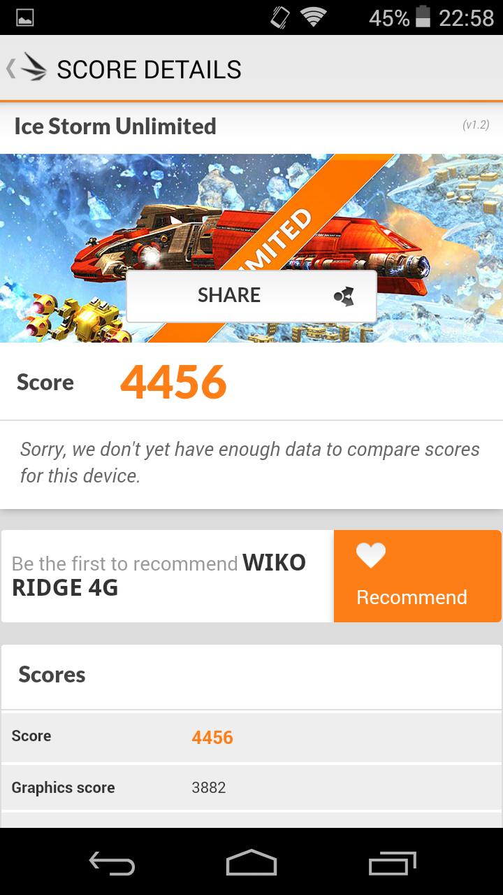 Foto de Wiko Ridge 4G, benchmarks (5/20)