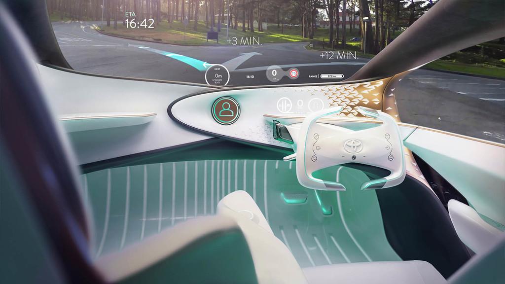 Conducción autónoma Toyota conducción aumentada