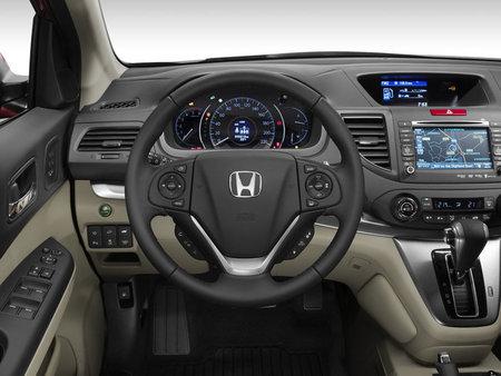 Interior del Honda CR-V