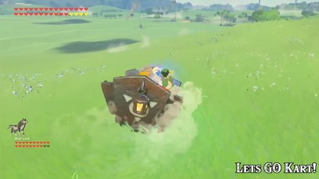The Legend Of Zelda Breath Of The Wild Kart 02