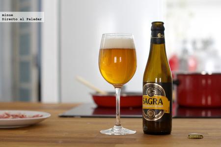 Cerveza sagra belgian white - 2
