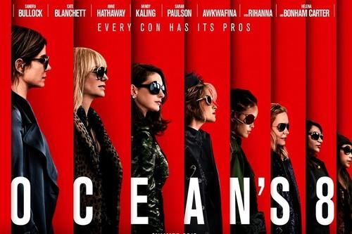 'Ocean's 8' cumple como entretenimiento de lujo pero se queda lejos de 'Ocean's 11'
