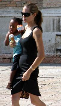 Angelina Jolie, ¿embarazada?