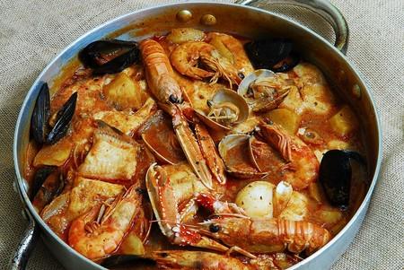Ametlla De Mar Suquet Gastronomia Pescado Cigala