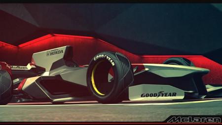 McLaren MP6-P ¿El futuro de los F1?