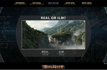 ILM, imágenes antes y después de los efectos visuales