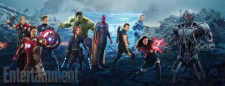 Banner de Vengadores 2 con todos los protagonistas