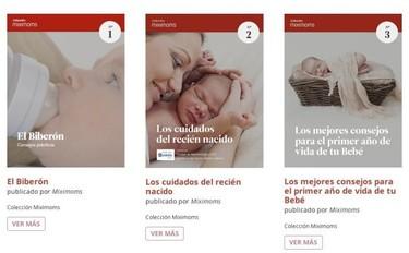 Libros electrónicos con consejos para madres en Miximoms