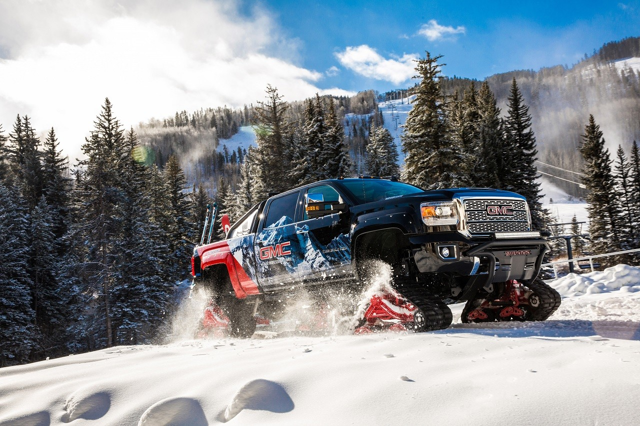 Foto de GMC Sierra 2500HD All Mountain concept (8/11)