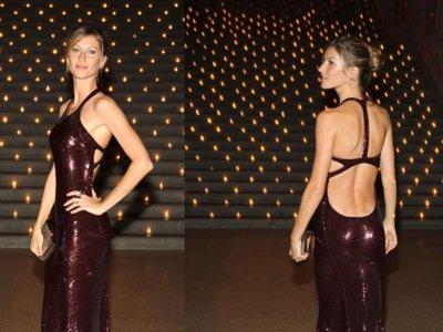 Gisele Bundchen espectacular de Calvin Klein