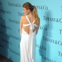 Tiffany & Co Blue Book gala 2014 red carpet Constance Jablonski