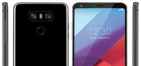 De nuevo el LG G6 en escena: un render oficial y una foto que lo compara con el G5