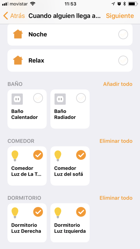 Homekit Luces