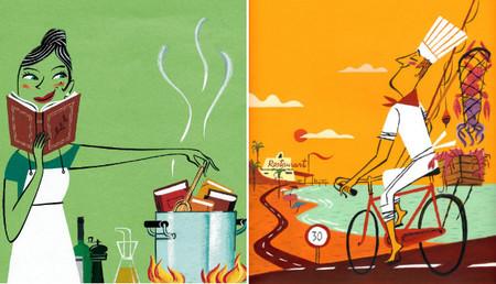 El alegre y delicioso mundo de Dani Jiménez, ilustrador de El Comidista