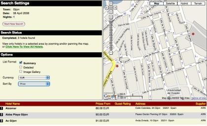 Map Channels Hotels Directory: otra forma de buscar hotel