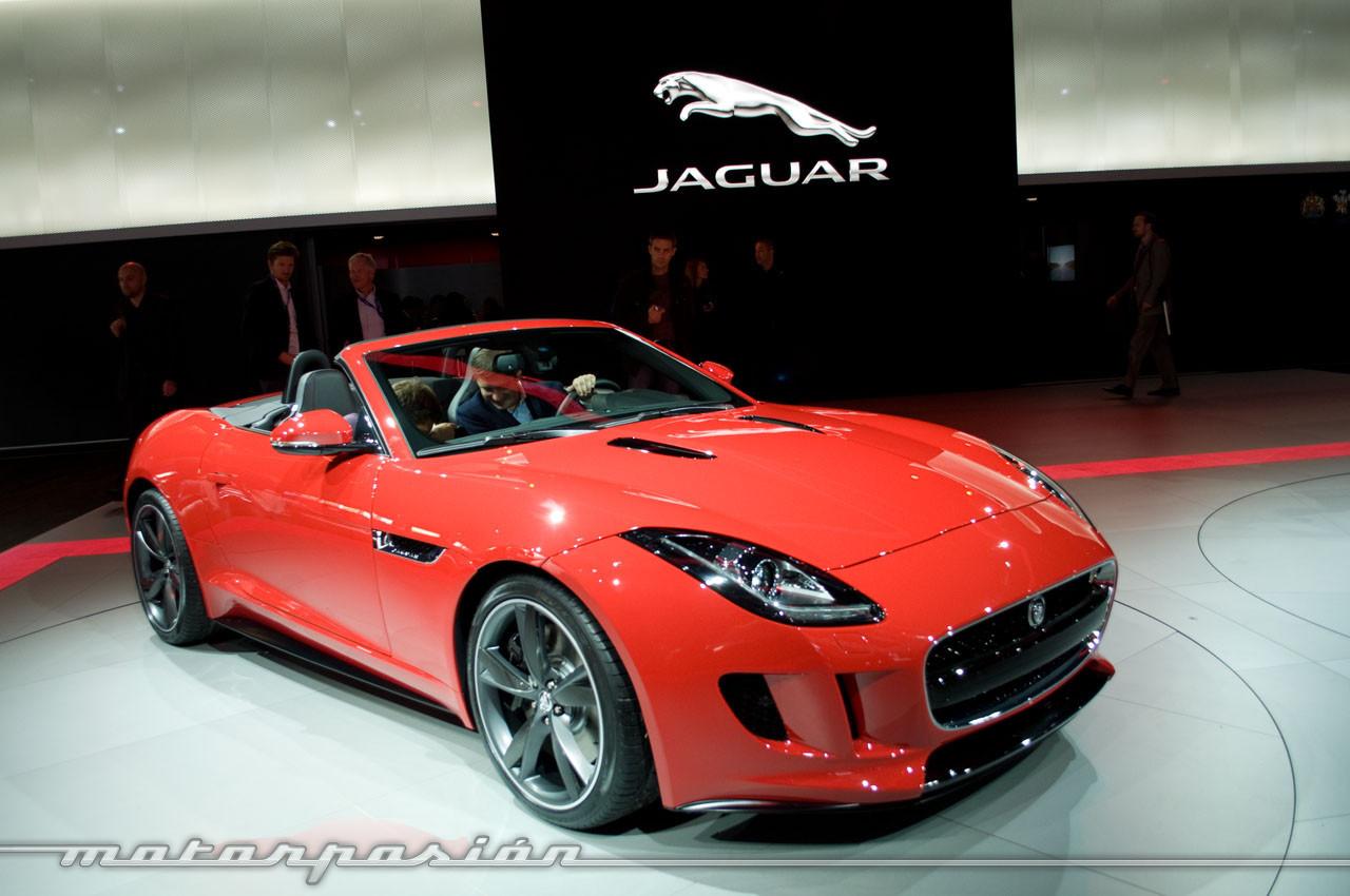 Foto de Jaguar F-Type en el Salón de París (3/10)