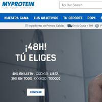 Tenemos hasta 5 cupones de descuento distintos en MyProtein para hacer una operación bikini más económica