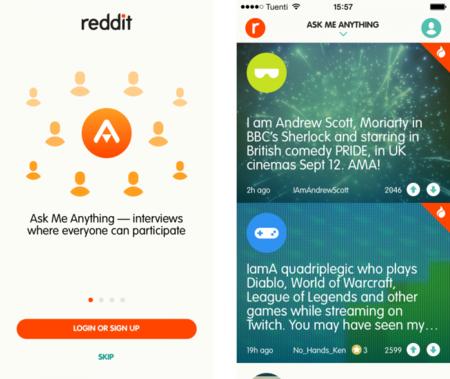 """Ask Me Anything: echamos un vistazo a la nueva aplicación de Reddit para sus """"AMA"""""""