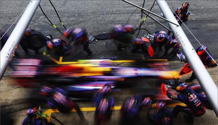 """""""El Arte del Pit-stop"""" por Red Bull"""