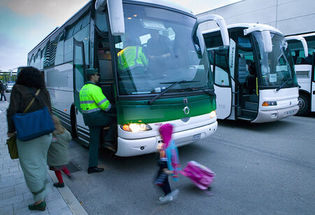 Autobuses Guardia Civil