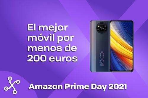 El mejor móvil por menos de 200 euros que te puedes comprar en el Prime Day