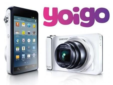La Samsung Galaxy Camera llega a Yoigo desde 459 euros