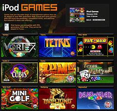 iLounge analiza todos los juegos nuevos del iPod 5G