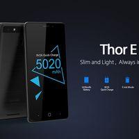 Vernee Thor E, un smartphone con 3GB de RAM y batería de 5.020mAh, por 88,99 euros