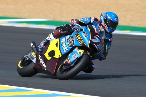 Adiós a lo grande de la crisis española en Moto2: ¡Triplete en Le Mans con victoria de Álex Márquez!