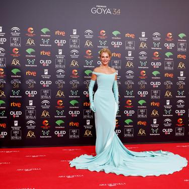Estas son las peores vestidas en la alfombra roja de los Goya 2020