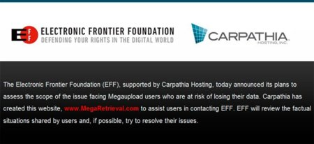 Los usuarios estadounidenses podrán solicitar ayuda para la recuperación de sus archivos de Megaupload