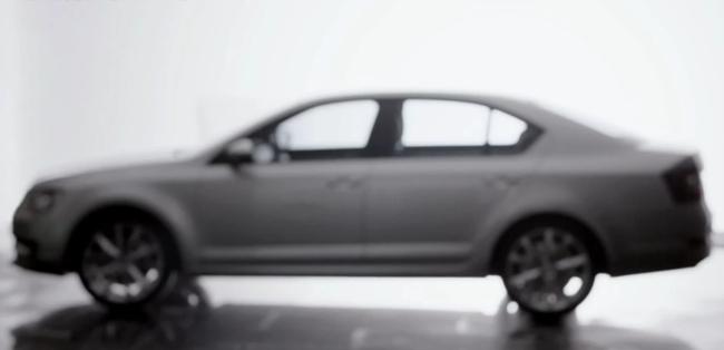 Skoda Octavia 2013 teaser