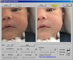 Digital Camera Enhancer: Reductor de ruido de fácil manejo