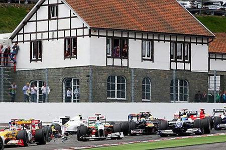 Otra tuerca le fastidia a Fernando Alonso en Spa