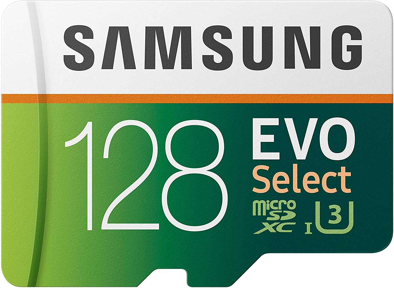 SAMSUNG: EVO Select 128 GB MicroSDXC UHS-I U3