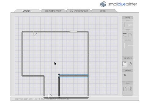 smallblueprinter genera el plano de cualquier lugar