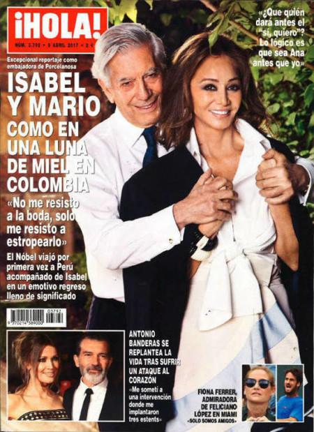 Isabel y Mario, inseparables