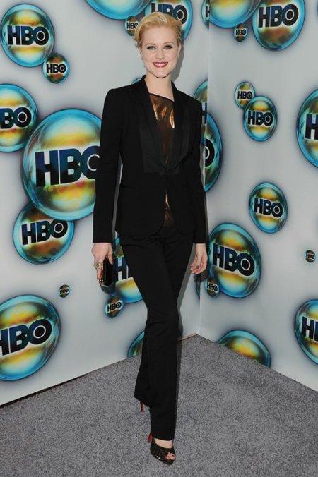 Evan Rachel Wood fiesta de HBO