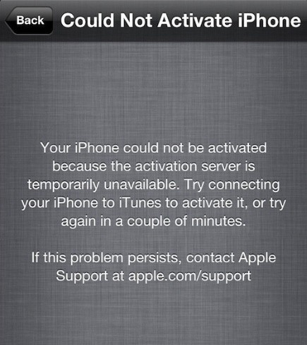 ¿No puedes activar un iPhone? Tranquilo, es culpa de los servidores de Apple