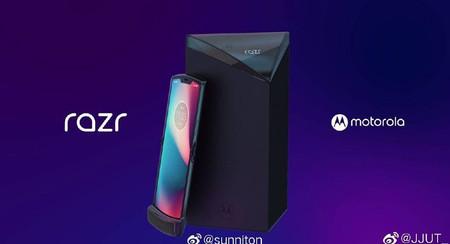 Así sería el Motorola Razr 2019, según unas imágenes filtradas que dejan más preguntas que respuestas