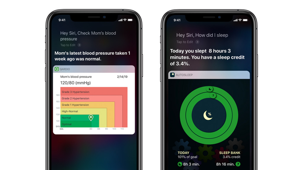 Apple pone el foco en nuevos atajos de Siri que permiten automatizar acciones de salud y actividad