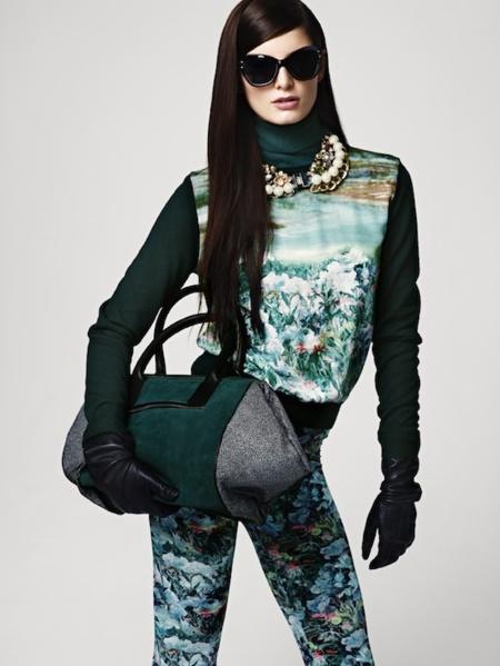 H&M lookbook Otoño 2012: las texturas y los tejidos ganan puntos