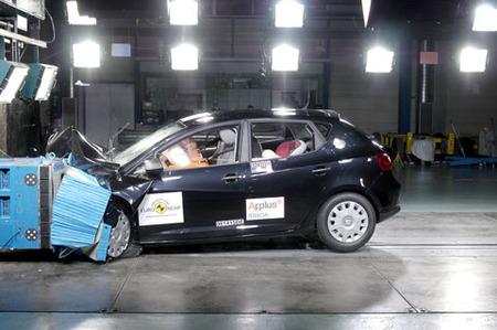 SEAT Ibiza - EuroNCAP frontal