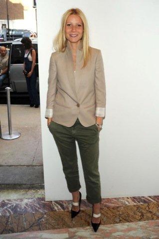Gwyneth Paltrow, blazer famosa