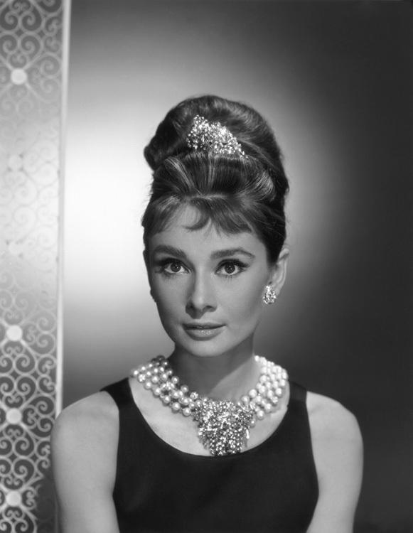 Audrey Hepburn Desayuno con Diamantes