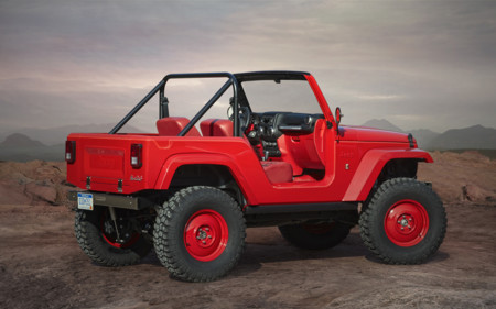 Jeep Shortcut Concept trasera