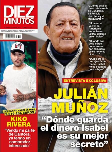 Portada Diez Minutos Julian Munoz