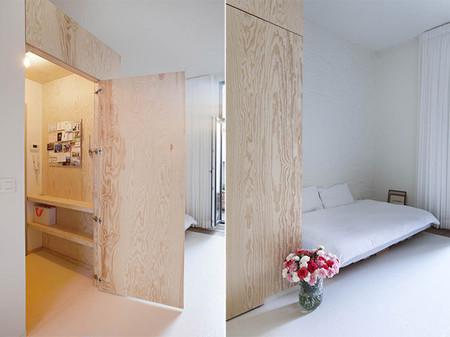 Minimalismo n rdico en tan solo 40 metros cuadrados for Como decorar un piso de 40 metros cuadrados