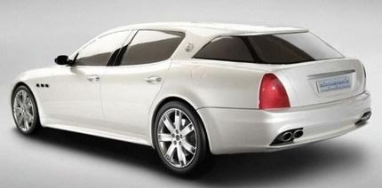 Maserati Quattroporte Shooting Brake: será fabricado por petición de un cliente árabe para cazar
