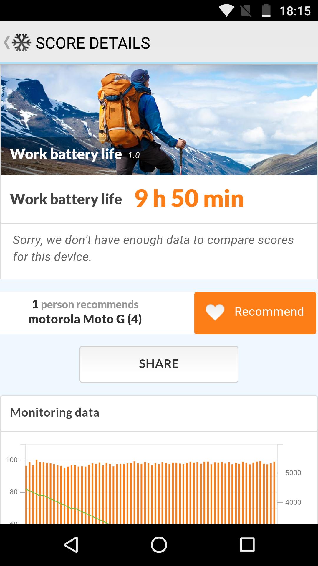Foto de Moto G4, benchmarks (23/30)